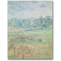 Trademark Global Camille Pissaro in.Autumn Morningin. Canvas Arts