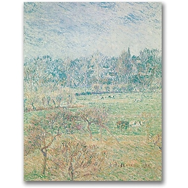 Trademark Global Camille Pissaro in.Autumn Morningin. Canvas Art, 32in. x 24in.