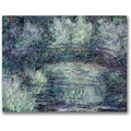 Trademark Global Claude Monet in.The Japanese Bridge IIIin. Canvas Arts