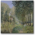 Trademark Global Alfred Sisley in.The Rest by the Streamin. Canvas Arts