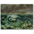 Trademark Global Gustave Courbet in.The Wave, After 1870in. Canvas Art, 24in. x 32in.