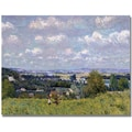 Trademark Global Alfred Sisley in.The Valley of the Seinein. Canvas Arts
