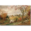 Trademark Global Jasper Cropsey in.Autumn Landscapein. Canvas Arts