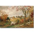 Trademark Global Jasper Cropsey in.Autumn Landscapein. Canvas Art, 30in. x 47in.