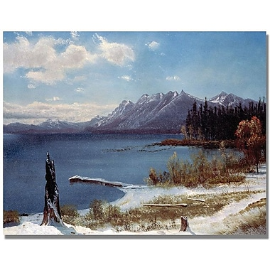 Trademark Global Albert Biersdant in.Lake Tahoein. Canvas Art, 24in. x 32in.