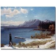 Trademark Global Albert Biersdant Lake Tahoe Canvas Art, 24 x 32
