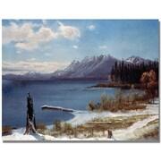 Trademark Global Albert Biersdant Lake Tahoe Canvas Art, 35 x 47