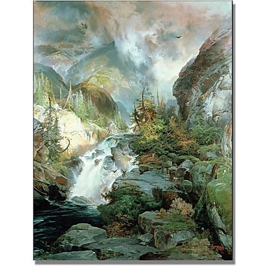Trademark Global Thomas Moran in.Children of the Mountainin. Canvas Arts