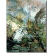 Trademark Global Thomas Moran Children of the Mountain Canvas Art, 32 x 24