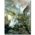 Trademark Global Thomas Moran in.Children of the Mountainin. Canvas Art, 47in. x 35in.
