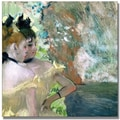 Trademark Global Edgar Degas in.Dancers in the Wingsin. Canvas Arts