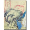 Trademark Global Edgar Degas in.After Bath 1903in. Canvas Arts