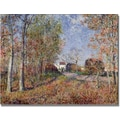 Trademark Global Alfred Sisley in.A Corner of the Woods at Sablonsin. Canvas Arts