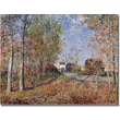 Trademark Global Alfred Sisley in.A Corner of the Woods at Sablonsin. Canvas Art, 35in. x 47in.