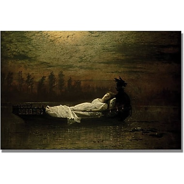 Trademark Global John Atkinson Grimshaw in.The Lady Of Shalottin. Canvas Art, 16in. x 24in.