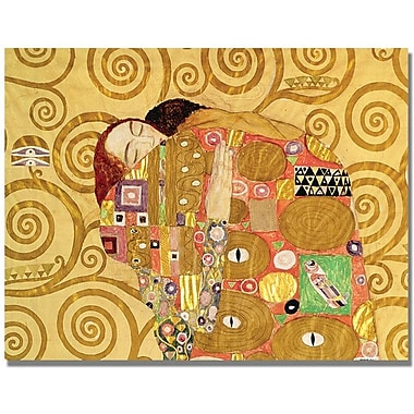 Trademark Global Gustave Klimt in.Fulfilmentin. Canvas Art, 18in. x 24in.