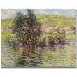 "Trademark Global Claude Monet ""Vetheuil, View from Lavacourt"" Canvas Art, 18"" x 24"""