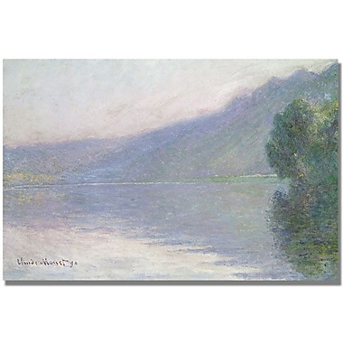 Trademark Global Claude Monet in.The Seine at Port Villez, 1894in. Canvas Art, 16in. x 24in.