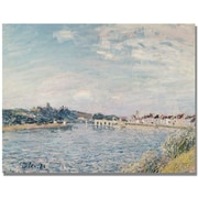 "Trademark Global Alfred Sisley ""Landscape 1888"" Canvas Art, 18"" x 24"""