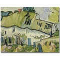 Trademark Global Vincent Van Gogh in.The Farm in Summerin. Canvas Art, 24in. x 32in.