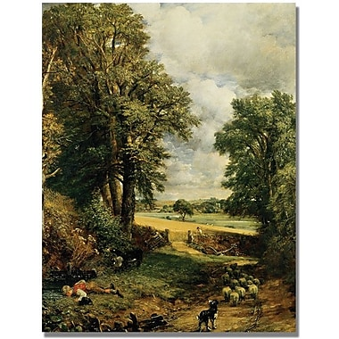 Trademark Global John Constable in.The Cornfieldin. Canvas Arts
