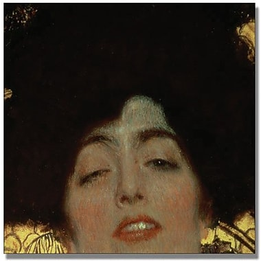 Trademark Global Gustav Klimt in.Judithin. Canvas Arts