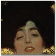 "Trademark Global Gustav Klimt ""Judith"" Canvas Art, 24"" x 24"""
