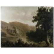"Trademark Global Thomas Doughty ""Mountain Lake"" Canvas Art, 24"" x 32"""