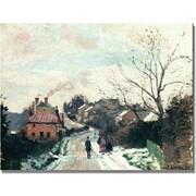"Trademark Global Camille Pissarro ""Fox Hill, Upper Norwood"" Canvas Art, 18"" x 24"""