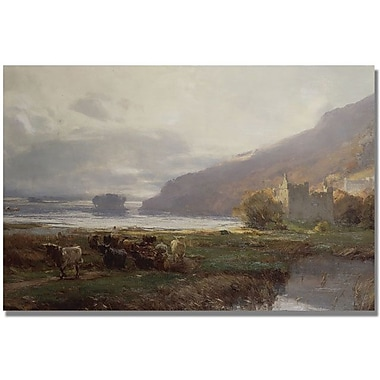 Trademark Global David Farquharson in.Kilchurn Castlein. Canvas Arts