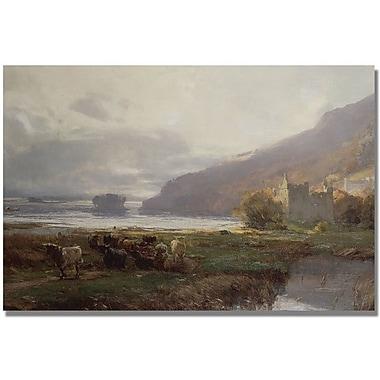 Trademark Global David Farquharson in.Kilchurn Castlein. Canvas Arts