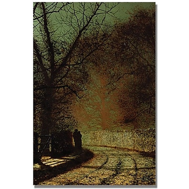 Trademark Global John Atkinson Grimshaw in.The Loversin. Canvas Arts