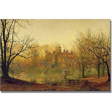 Trademark Global John Atkinson Grimshaw in.In Sere And Yellow Leafin. Canvas Art, 30in. x 47in.