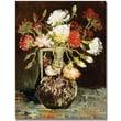 """Trademark Global Vincent Van Gogh """"Bouquet of Flowers II"""" Canvas Art, 47"""" x 35"""""""