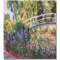 Trademark Global Claude Monet in.The Japanese Bridge IVin. Canvas Art, 24in. x 24in.