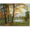Trademark Global Albert Biersdant in.A Quiet Lakein. Canvas Arts