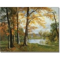 Trademark Global Albert Biersdant in.A Quiet Lakein. Canvas Art, 35in. x 47in.