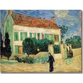Trademark Global Vincent Van Gogh in.White House at Nightin. Canvas Arts