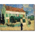 Trademark Global Vincent Van Gogh in.White House at Nightin. Canvas Art, 35in. x 47in.