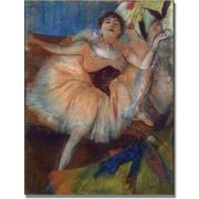 Trademark Global Edgar Degas Seated Dancer, 1879 Canvas Art, 18 x 24