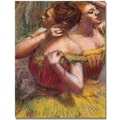 Trademark Global Edgar Degas in.Two Dancersin. Canvas Arts