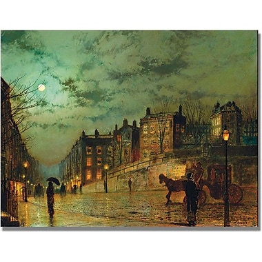 Trademark Global John Atkinson Grimshaw in.Hampstead Hillin. Canvas Arts