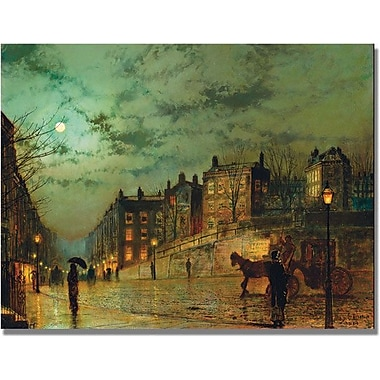 Trademark Global John Atkinson Grimshaw in.Hampstead Hillin. Canvas Art, 24in. x 32in.