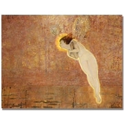 "Trademark Global John Atkinson Grimshaw ""Iris"" Canvas Art, 24"" x 32"""