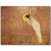 "Trademark Global John Atkinson Grimshaw ""Iris"" Canvas Art, 35"" x 47"""