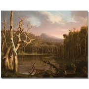 Trademark Global Thomas Cole Lake with Dead Trees Canvas Art, 18 x 24
