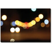 "Trademark Global Cary Hahn ""Lights Galore"" Canvas Art, 16"" x 24"""
