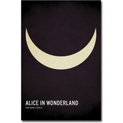 "Trademark Global Christian Jackson ""Alice in Wonderland"" Canvas Art, 24"" x 16"""