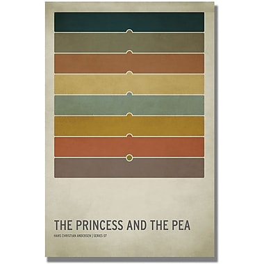 Trademark Global Christian Jackson in.Princess and the Peain. Canvas Arts