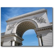 "Trademark Global Colleen Proppe ""Legion of Honor Arch"" Canvas Art, 18"" x 24"""